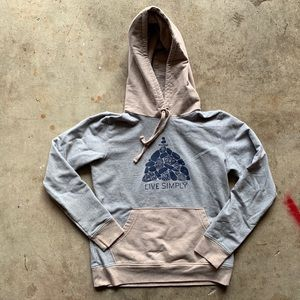 Patagonia Live Simply Summit Stones Pullover RARE